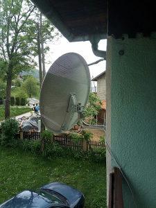 Satelitska antena komplet