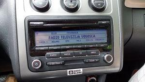 Rcd 310 AUX,CD mp3 VW Touran kao nov