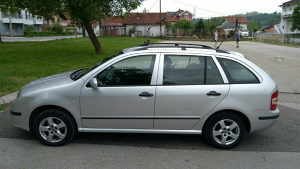 Škoda Fabia karavan