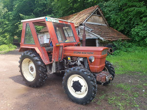 Traktor fiat store 404 super 4x4