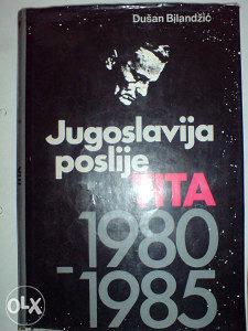 Jugoslavija poslije TITA 1980 - 1985