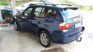 BMW X3 dizel 3.0 manuelni