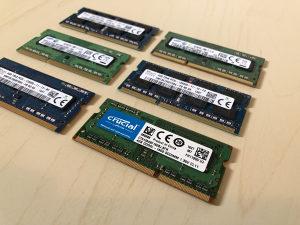 ram memorija DDR3 4 GB laptop