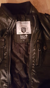 Kozna jakna za djecake 152 vel.