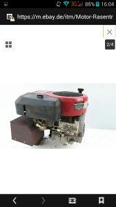 Motor za traktor kosilicu 13.5konja brigs