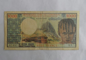 Novcanica Kamerun