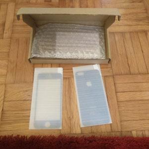 Prednje i zadnje zaštitno staklo za iPhone 5 5S