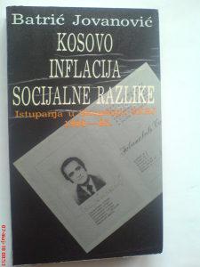 Batrić Jovanović: Kosovo inflacija socijalne razlike