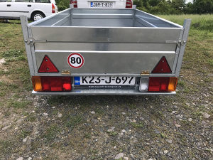 Prikolica za Auto nova 750kg bruto 750 kg