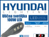 Ulična LED svetiljka/rasvjeta 100W