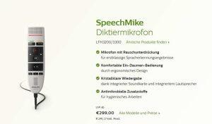 Diktafon philips LFH 3200 speechmike