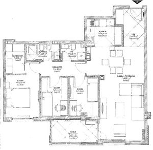 Četvorosoban stan - 87,22 m2 - Obilićevo\Mejdan