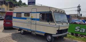 Kamper oldtajmer kamp camp Hymer mobil Mercedes Benz
