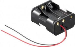 Kuciste za (baterije) 6 baterija AA 1.5V (19231)