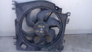 Ventilator hladnjaka Renault Clio 3 1.2 16 ventila