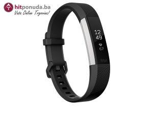Fitbit Alta HR pametni sat SmartWatch (gunmetal S)