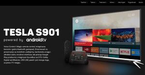 "Tesla 4K 43"" UltraHD TV 43S901SUS Android 43S901 UHD"