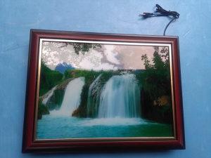 Slika na struju vodopad