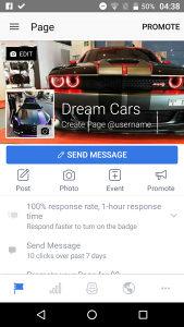 "Stranica ""Dream Cars"" (9.500 lajkova)"