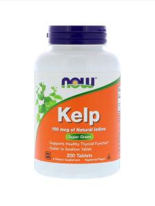 Kelp alge / ŠTITNA ŽLIJEZDA / 150mcg / 200 tableta