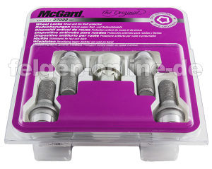McGard 27222 Chrome Bolt Cone  Wheel Locks M14 x 1.5