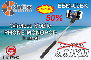 Selfie stick Bluetooth ONE