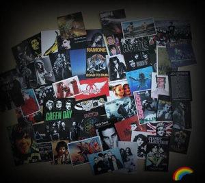 54 ROCK/METAL naljepnice,Pantera,Iron Maiden,Metallica