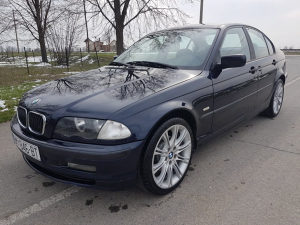 BMW 320d e46 NA HRV TABLICAMA