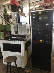 CNC erodir mašina Zimmer+Kreim PEC 600