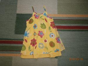 Krasna C&A tunika-haljinica.Broj 116/122..Kao nova!!