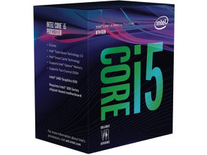 INTEL Core i5-8600 (6 x 3.10-4.30GHz), Coffee Lake