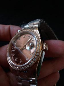 Rolex Oyster Rose Gold Datejust Zenski
