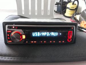 Auto radio cd mp3 aux usb Kenwood