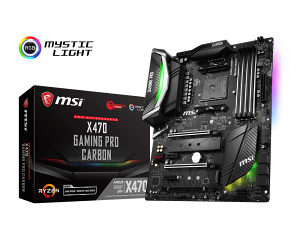 MSI X470 GAMING PRO CARBON AM4 Ryzen Novo!!!