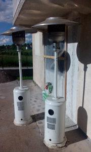 Vanjska grijalica na plin