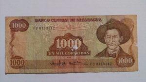 Novčanice NIkaragva