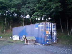 Kamionski kontejner skladisni brodski kontejner