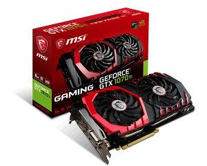 MSI GAMING GTX 1070TI / GTX 1070 TI 8GB DDR5