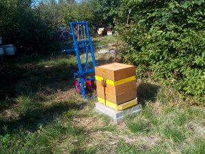 apilift; pčelarska vaga; viljuškar