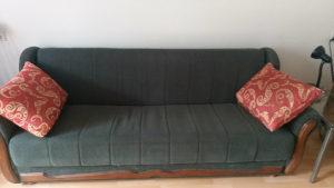kauc na razvlacenje lezaj sofa PUNO DRVO