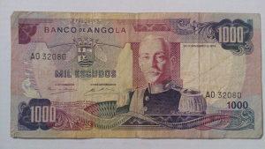 Novčanice Angola 1972.
