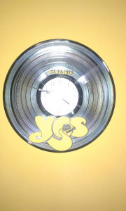 Sat zidni gramofonska ploča