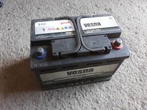 Akumulator Vesna 73Ah