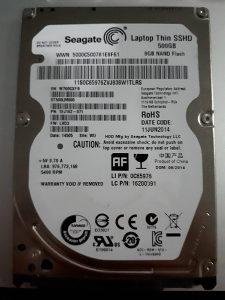 SSHD disk
