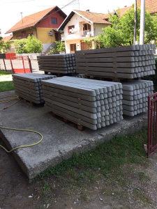 Betonski stubovi za ograde