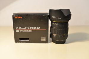 SIGMA 17-50mm f2.8 EX DC OS Nikon