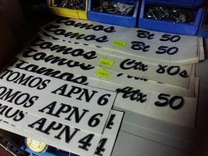 Naljepnice Tomos Apn 4 6 ctx atx bt a3 a35