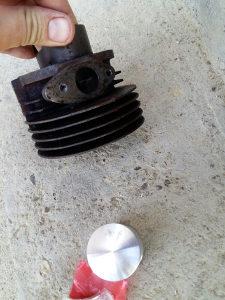 Tomos vodena pumpa Cilindar 42mm Nov repariran