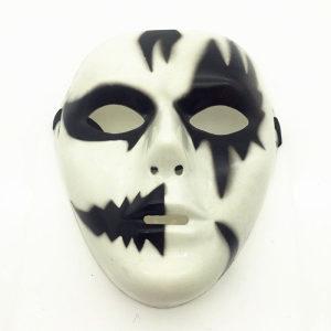 Maska party maska halloween maska black-white