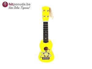 Soprano ukulele UK-51BYS 51cm žuta boja